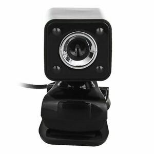 1080P 800W 4 LED HD Webcam Camera + USB 2.0 Microphone for ...