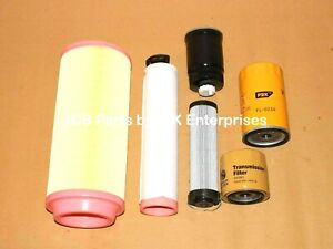 FILTER-SERVICE-KIT-PROJECT-12-TURBO-ENGINE-ASSORTED-PART-NO-S-JCB-PARTS-NEW