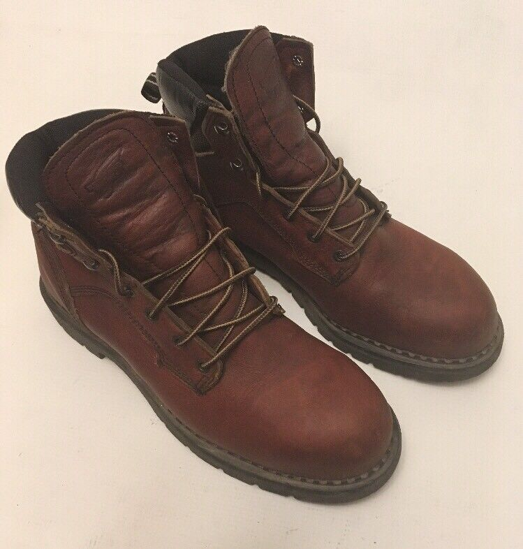 RED WING 2326 MENS 10 D Leather Hiking Hunting Work Boots MADE IN USA STEEL TOE