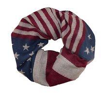 Loop Schlauchschal Tube USA United States Stars and Stripes Weich und Warm