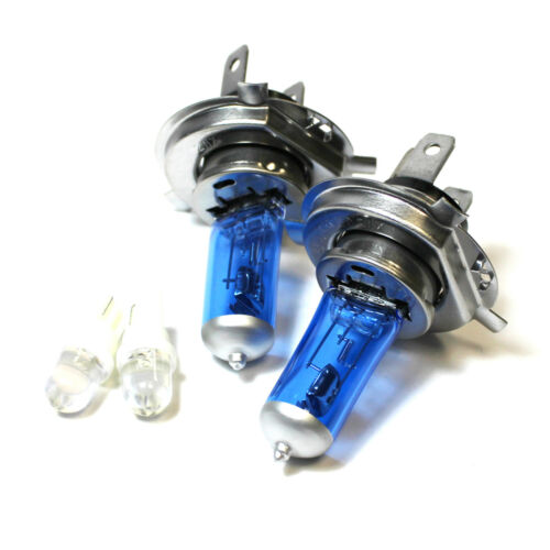 Citroen C2 55w ICE Blue Xenon HID High//Low//LED Side Headlight Bulbs Set