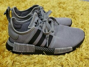 VGC Older Boys Girls Grey Black Adidas