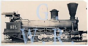 Baryt Dampflok Foto - SB Serie 34 Lok.Nr. 931