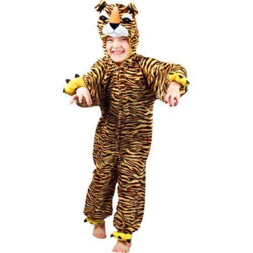 TIGER TIGRESS COSTUME KIDS ZOO JUNGLE WILD ANIMAL LIFE OF PI SIZES 3-13 YEARS