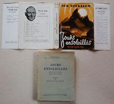 Nonni Jours Ensoleillés Jon SVENSSON éd Alsatia Scout