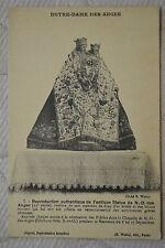 """CPA """" NOTRE DAME DES ANGES - Reproduction de l'antique Statue de N.D.des Anges"""