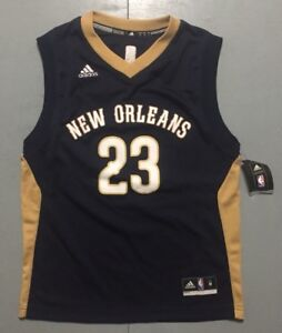 09dcc8278303 Image is loading NBA-New-Orleans-Pelicans-Anthony-Davis-Adidas-Jersey-
