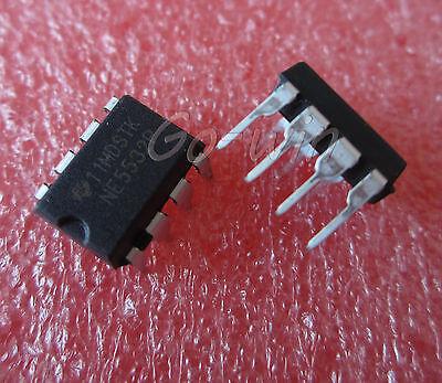 100 PCS NE5532P DIP-8 NE5532 DUAL LOW-NOISE OPERATIONAL AMPLIFIERS