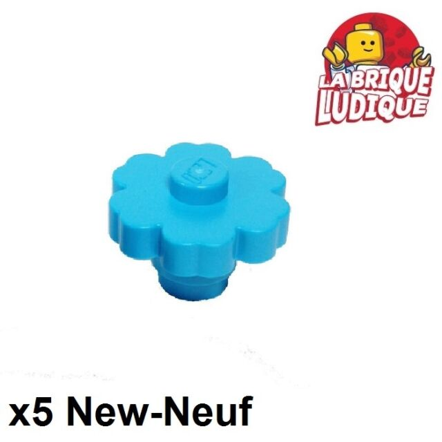 *NEW* 20 Pieces LEGO Large Rounded Flower 2x2 YELLOW with SOLID STUD