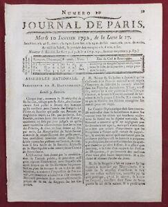 Saint-Servan-sur-mer-en-1792-Morbihan-Veto-Louis-16-Goldoni-Comedie-Francaise