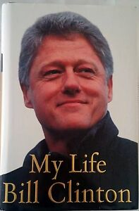 My-Life-by-Bill-Clinton-FREE-AUST-POST-very-good-used-condition-Hardback-2004