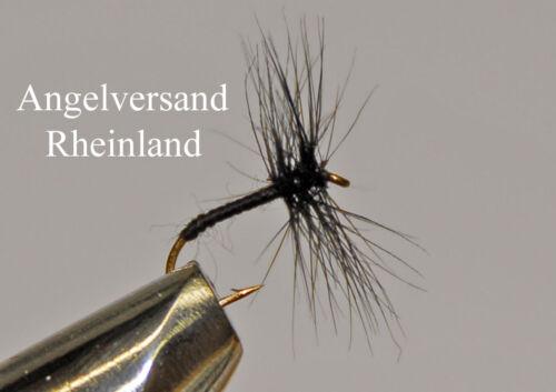 3 Black Spider Hakengröße #14-18 wählbar by Angelversand Rheinland
