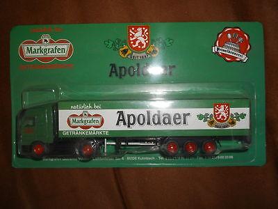 Bier & Brauerei Markgrafen Trucks Der Brauerei Apoldaer Selten 1:87