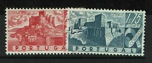 Portugal-SC-666-and-667-Mint-Hinged-Hinge-Remnants-see-notes-S6350