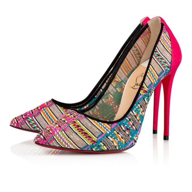 timeless design 55883 db8f2 Christian Louboutin Pigalle Follies 100 Suede Pump 36 Pink