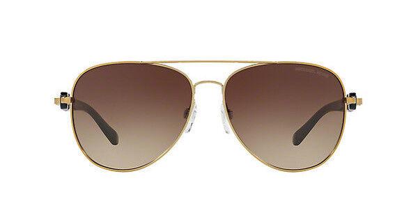 Michael Kors Damen Sonnenbrille Pandora 112813, Gold/Smokegradient, 58