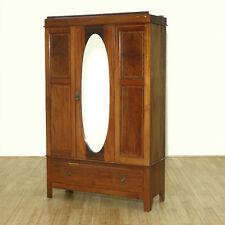 traditional antique english wardrobe armoire