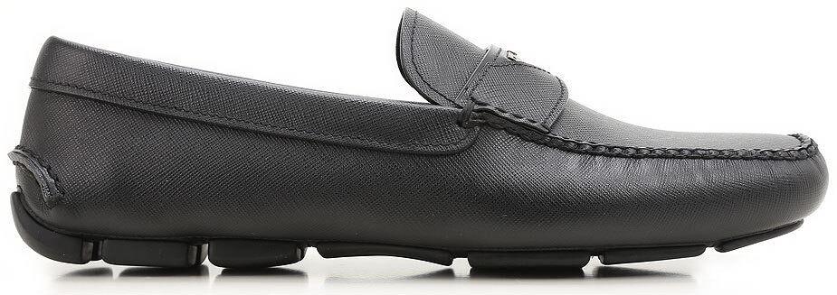 PRADA Mocassini Mocassini  uomo scarpe MADE IN ITALY 100% AUTENTHIC cs16uk