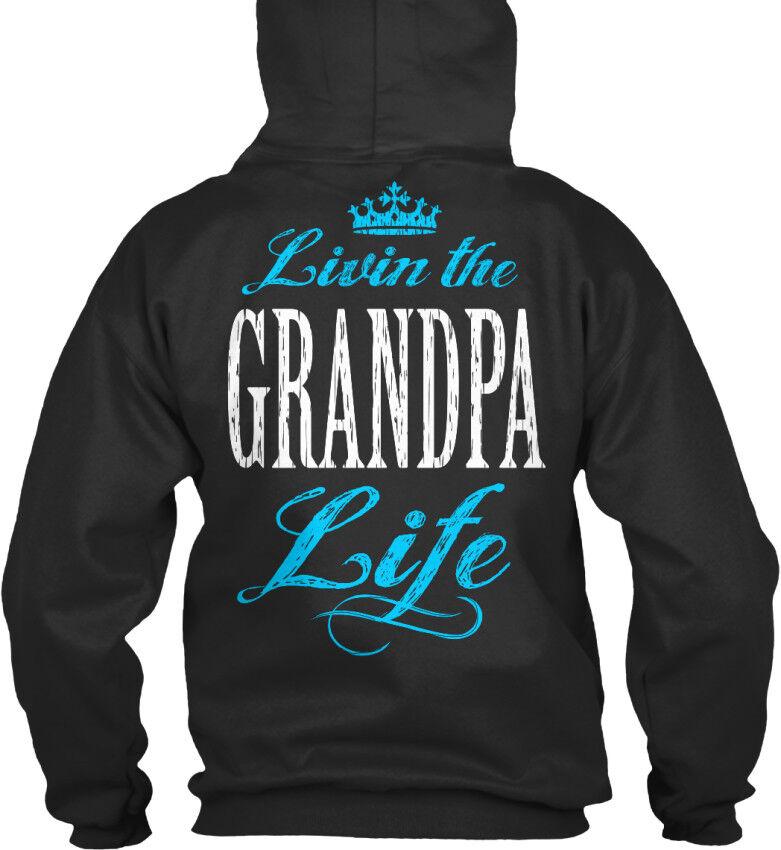 Livin The Grandpa Life - Standard College Hoodie Hoodie Hoodie   Sonderkauf    Deutschland Shops  b9b451