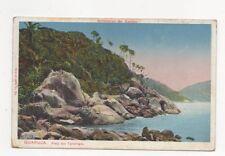 Guaruja Praia Das Tartarugas Brazil 1914 Postcard 449a