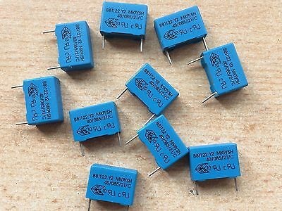 ARCOTRONICS 2 PIECES 0.022uF 250VAC Y2 SUPPRESSION CAPACITORS KEMET