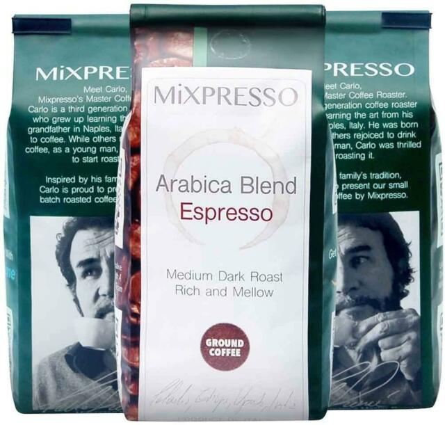 Espresso Coffee Blend By Mixpresso 10 Ounces Bags Pack Of 4