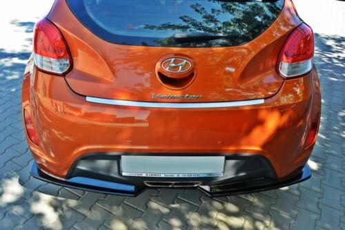 Rear Splitter Hyundai Veloster 2011-up