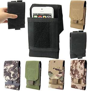 Universel-Camouflage-Militaire-Pochette-De-Ceinture-Etui-Support-Holster