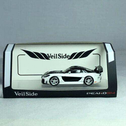 1//64 peako peako 64 MAZDA RX-7 veilside Fortune 7 White//black ltd 3000 pcs