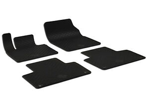Floor-mat-black-rubber-for-volvo-xc90-2015-pres-4pcs