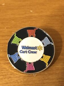 Rare Walmart Lapel Pin I Make A Difference Star Wal-mart Pinback