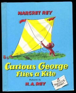 Rey-Curious-George-Flies-a-Kite-Weekly-Reader-ed-039-58