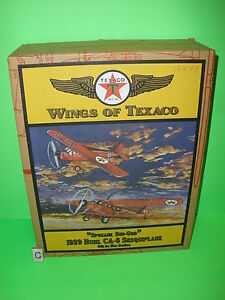WINGS OF TEXACO 1929 BUHL CA-6 SESQUIPLANE AIRPLANE REGULAR EDITION #9 in Series