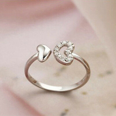 Fashion Sliver Plated Opening Adjustable Animal Ring Valentine's Day gift