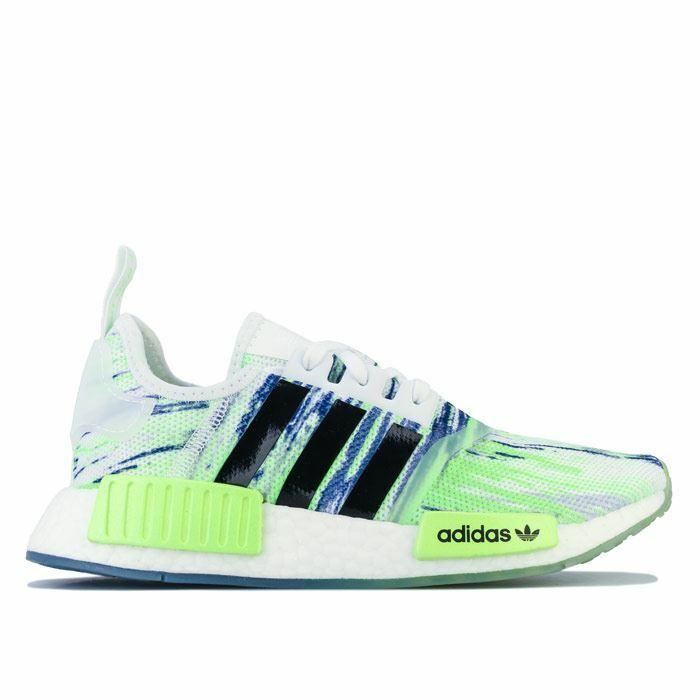 Boy's adidas Originals Junior NMD R1 Trainers in Green