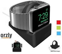 Orzly Night Stand Holder Cradle for Apple Watch iWatch 38mm or 42mm