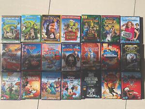 60-x-DVDs-Disney-Pixar-Star-Wars-Shrek-Lego-Kids-Childrens-Bundle-Films-Movies