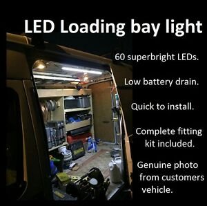 Ford Transit Van Interior Led Rear Loading Light Tdci Swb Lwb 2 2 2 4 T260 T280 Ebay