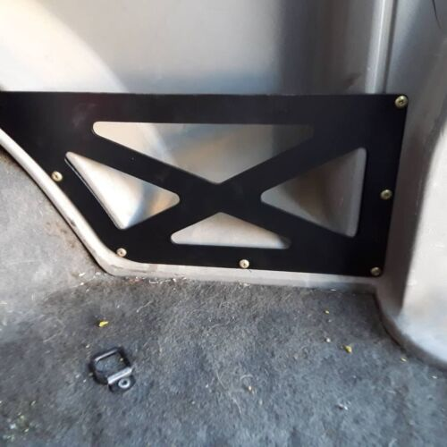 84-01 JEEP CHEROKEE XJ CARGO PLATE POCKET COVER CUBBY FREE SHIPPING