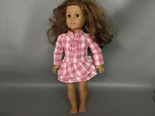 Black Brown Red Purple Silver Pink White or Zebra Belt American Girl Size Doll