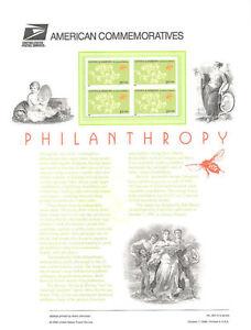 554-32c-Philanthropy-3243-USPS-Commemorative-Stamp-Panel