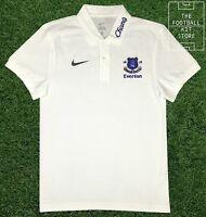 Everton Polo Shirt - Official Nike Efc Football Polo Top - Small Mens
