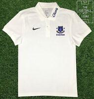 Everton Polo Shirt - Official Nike Efc Football Polo Top - Small Mens