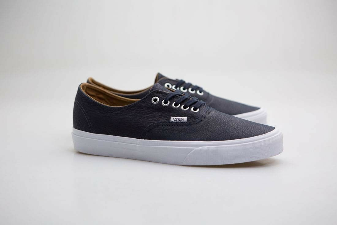 Vans Men night Authentic Decon - Premium Leder Blau parisian night Men true Weiß VN08EP fefdda