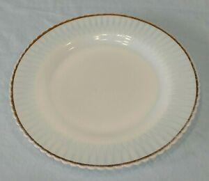 "8/"" Petalware Salad Plate Gold Trim MacBeth-Evans"
