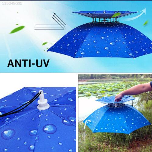 FE1E Waterproof Cloth Insulated Umbrella Cap Durable Sun Umbrella Rainy
