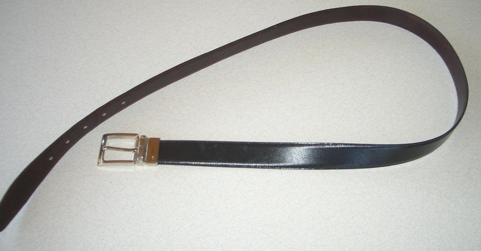 Herren Ledergürtel von Bogner schwarz und braun echtes Leder
