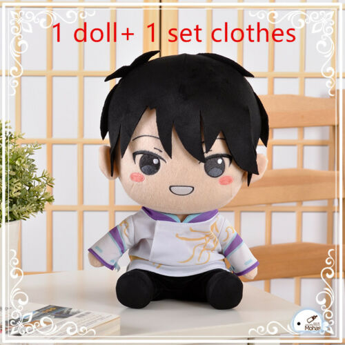 Yuzuru Hanyu 2018 Pyeongchang Olympic Skating Figure Plush Toy Doll with Clothes