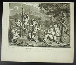 Native-Americans-Eingeborenen-Fessel-Frankreich-von-die-Antis-Bernard-Picart