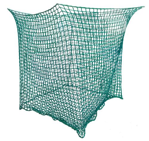 Heunetz für Rundballen 4,5 cm  Futtersparnetz Heuraufennetz Maße 1,4x1,4x1,6m Stall- & Weidebedarf Heunetze & -taschen